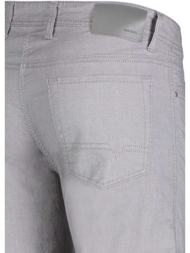 MAC Jeans Modern Fit ARNE Yarn Dyed Stretch platinum grey