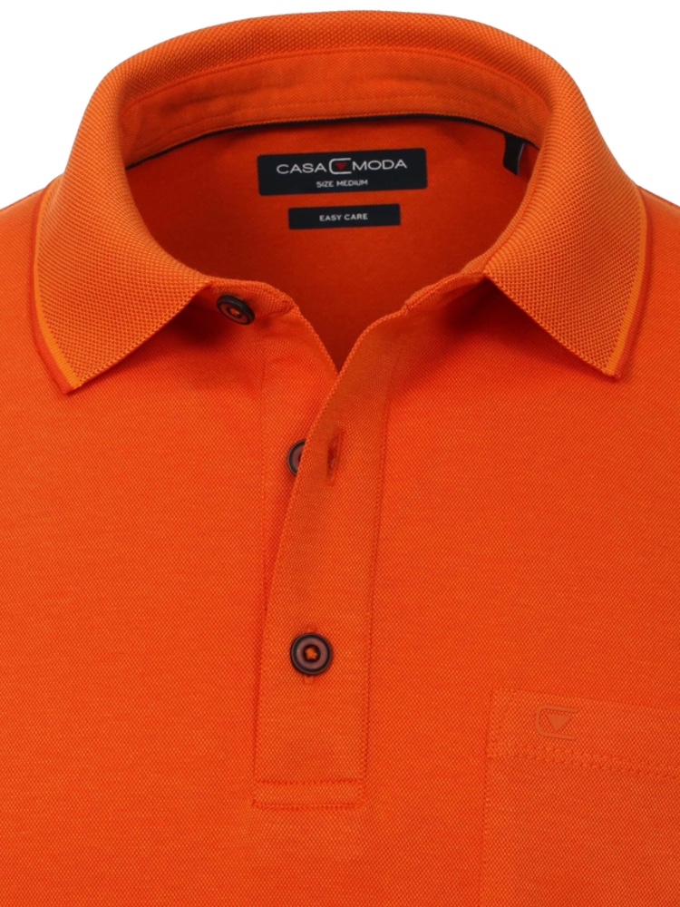 CASA MODA Poloshirt orange SALE