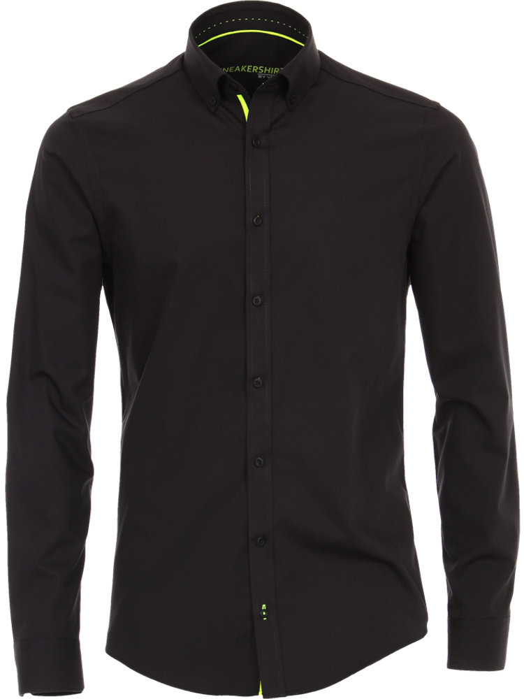 Venti Hemd MODERN FIT 183116400/800 Sneakershirt schwarz SALE
